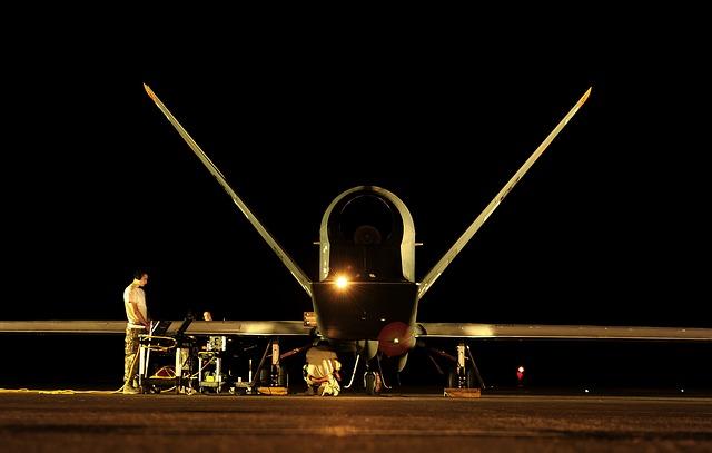 Entretien drone de guerre