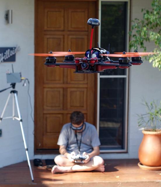 drone fonctionnement