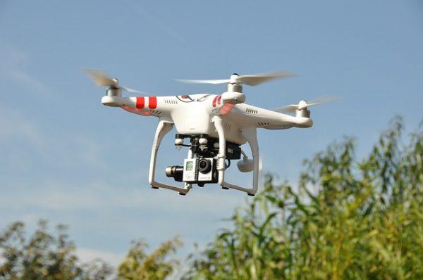 l'usage du drone