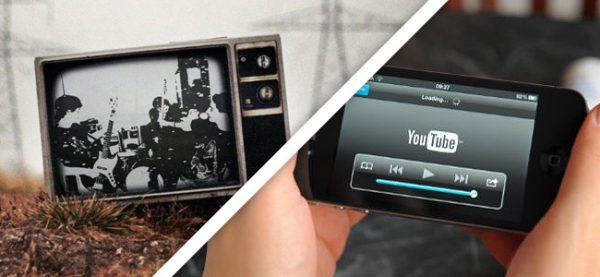 online video vs tv