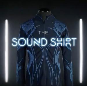 The SoundShirt, la chemise connectée