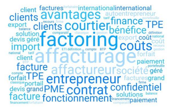 affacturage, factoring